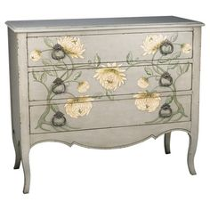 I pinned this Chrysanthemum Chest from the Light & Breezy event at Joss and Main!