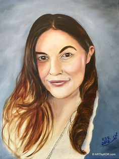 Oil Painting of a Beautiful young Woman on 16 x 20 canvas. Oil Portrait, Painting Videos, Mona Lisa, Beautiful Women, Portraits, Woman, Canvas, Artwork, Tela
