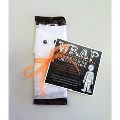 "Send your missionary a gift that will remind them to ""Wrap themselves up in the Lord's work"" send one to your missionary today for $1.99 + shipping! And remember we deliver to the MTC :)"