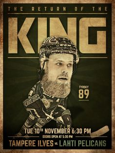 The Return of the King  #ilves #wearethekings #liiga