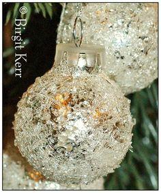 Snowball Ornaments