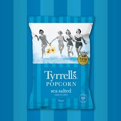 We are so excited to share the news about the Tyrrells Popcorn re-launch. Now available in Sainsbury's & Waitrose stores nationwide. Read about it here. Popcorn Bags, Sainsburys, Design Agency, New Recipes, Packaging Design, Product Launch, News, Blog, Popcorn