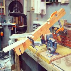 "15 Likes, 1 Comments - S.Birdofprey (@sjfalcon) on Instagram: ""#guitar neck shaping jig #diy #woodworking #rva """
