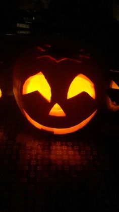 Halloween pumpkin Smile