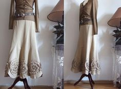 A rather unusual and pretty skirt