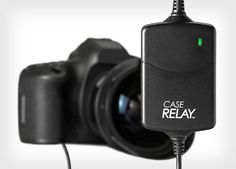 Case Relay is a Hot Swap System for Non-Stop Power to Your Camera