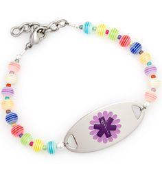 Oopsy Daisy Medical ID Bracelet