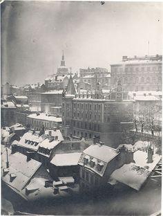 Mosebacke, Stockholm, ca. 1900
