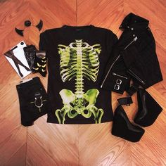 Last minute Halloween shopping? We've got you covered!  #topshopusa #vegas #la #nyc #chicago #skeleton