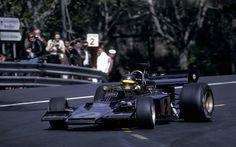 1973 GP Hiszpanii (Montjuich) Lotus 72E - Ford (Ronnie Peterson)