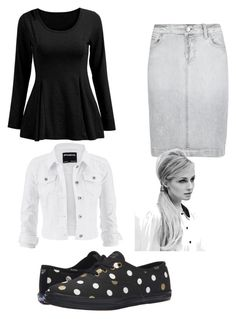 """""""Casual"""" by pentecostalgirl1234 ❤ liked on Polyvore featuring Keds, M&S, maurices and Hershesons"""