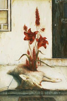 Martin Wittfooth, american art, american surreal artist, surrealim paintings, surrealists artworks