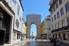 Praca do Commercio Sehenswürdigkeiten Lissabon