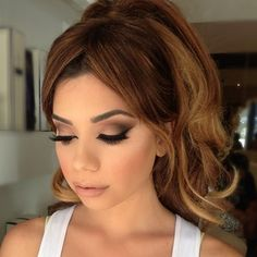 Classic matte nude brown eyes