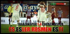 Trabzonspor ve Eskişehirspor arasında oynanan maçta yine hakem hataları göze çarptı. Önceki maçta 9 gol atan Trabzonspor bu maçta çuvalladı ve Eskişehirspordan 4 gol yedi. Maçın tüm golleri ve özetini