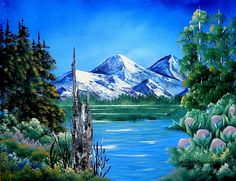 A painting of Summer sweetness