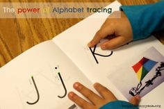 The simple power of finger tracing the alphabet and why it works!