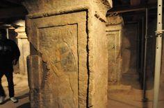 Pinturas e inscripciones en la tumba de Maia, ¿nodriza? del  faraón Tut?