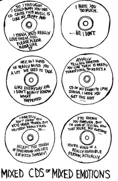 cds of mixed emotions