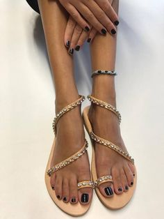 Wedding sandals,Womans shoes,Bridal sandals,Leather Sandals,Womans sandaSandals,Gift ,Grecian sandal,Rhinestone sandals