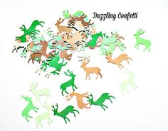 Camouflage Deer  Party Supplies Girls Birthday by dazzlingconfetti