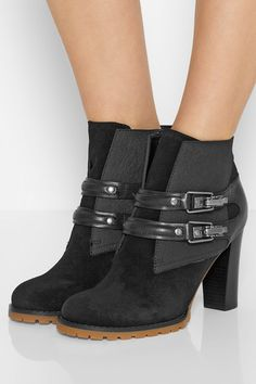 a58c57d5b541 See By Chloé - Nubuck ankle boots