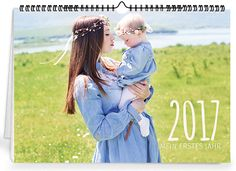 Gestalten Sie Ihren eigenen Kalender mit Fotos von tollen Ereignissen auf www.onlineprintXXL.com #onlinekalender #fotokalender #kalenderlayout #bildergalerie #schnappschuss #momente