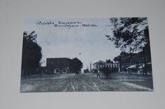 Brooklyn MI Vintage Photo Postcard Size Jackson County MI | eBay