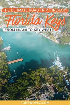 Florida Keys is one of the most popular USA road trips. The 125-mile stretch of coastline is dotted with many fun Florida destinations including Key Largo, Islamorada, Big Pine Key, Marathon and Key West! We dive into adventurous things to do in Florida Keys, not-to-miss Florida Keys restaurants, and luxurious Florida Keys hotels to help you plan your Florida vacation! Bonus: a step-by-step road trip planner is included to help you plan the perfect summer road trip! Visit Florida, Florida Travel, Florida Vacation, Florida Keys, Usa Travel Guide, Travel Usa, Travel Tips, Road Trip Packing, Road Trip Usa