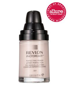 echnically, Revlon PhotoReady Perfecting Primer is meant to go on under foundation, but with light-reflecting pigments that brighten skin right away, we're tempted to skip that second step.