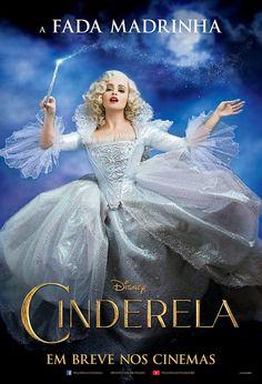 Cinderela ganha cartazes de personagem