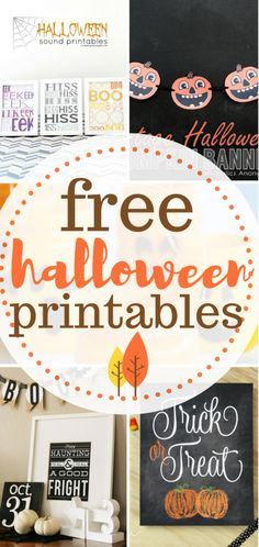 Halloween printables for free!   DIY Home, Halloween, Halloween Printables, DIY Holiday, Halloween Home