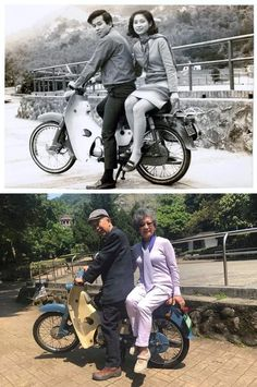 25 People Who Recreated Their Old Photos and Traveled to the Past for a Second Old Family Photos, Old Photos, Recreated Family Photos, Then And Now Pictures, Photo Recreation, Bicycle Maintenance, Historical Images, Album Photo, Photo Essay