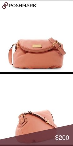 Mark Jacobs mini leather messenger Very pretty color! Comes with dust bag Marc Jacobs Bags Crossbody Bags