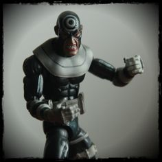 Bullseye from the Marvel Legends Series. He's got one mean looking face.