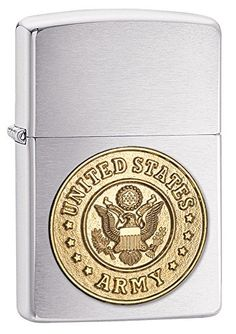 Lighters - Zippo US Army Chrome Lighters *** Check this awesome product by going to the link at the image.