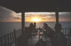 Noon Restaurant is by far the most perfect location to watch the sun set and enjoy fancy cocktails in Koh Lanta!