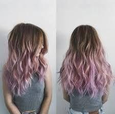 Resultado de imagen de lilac balayage brown hair