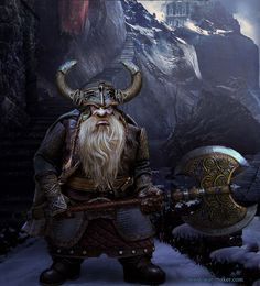 Dwarf Warrior Guardsman