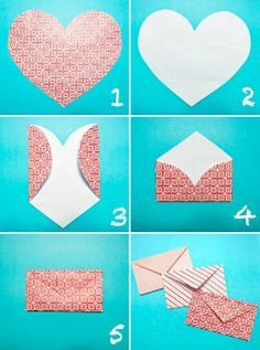 DIY: Simple way to make an envelope
