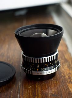 Carl Zeiss Jena Flektogon 4/50 wide angle lens for the new East German MF SLR camera I have on the way.