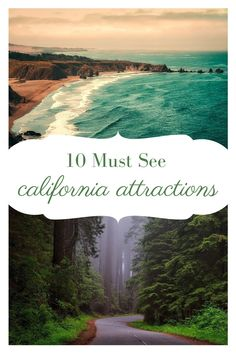 Headed to California? Check out these 10 must see California attractions. From the Golden Gate Bridge to the Shore and everything in between. Cruise Vacation, Vacation Trips, Vacation Ideas, Yosemite National Park, National Parks, Cool Places To Visit, Places To Go, Travel Around The World, Around The Worlds