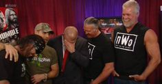 """""""Kevin Nash: """"Man, what kind of show are you running here?"""" Triple H: """"I'm so ashamed. Kevin Nash, Wrestling News, Triple H, Wwe, Running, Keep Running, Why I Run"""