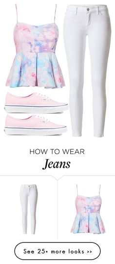 """Summer Jeans"" by lilystyles1 on Polyvore"