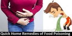 home remedies of food poisoning
