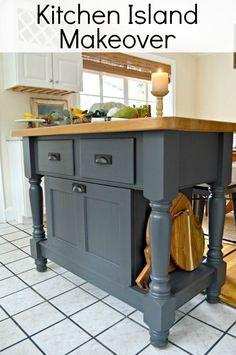 An easy DIY kitchen