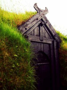 """Viking house like in my novel, Beautiful Wreck"" by velostricken on Flickr - Viking Door"