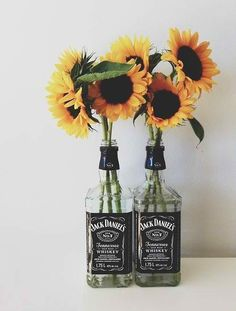 Sunflower and jack daniels