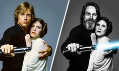 Star Wars Characters That We Love, Then and Now - 9GAG