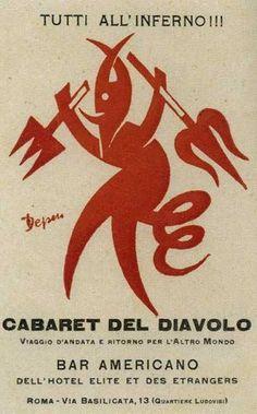 Cabaret del diavolo -Depero